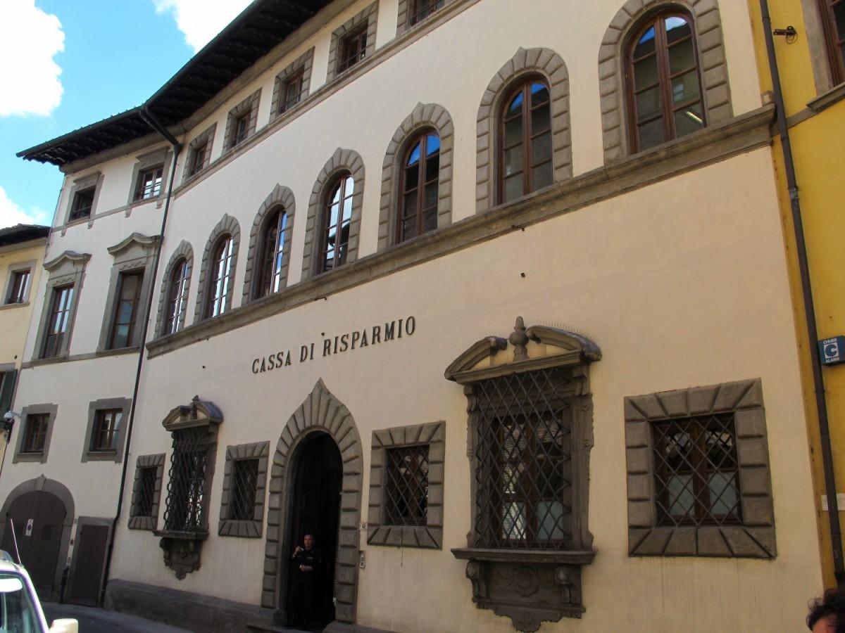 Cassa risparmio San Miniato - Sede - Palazzo Formichini (Foto Sailko) Imc