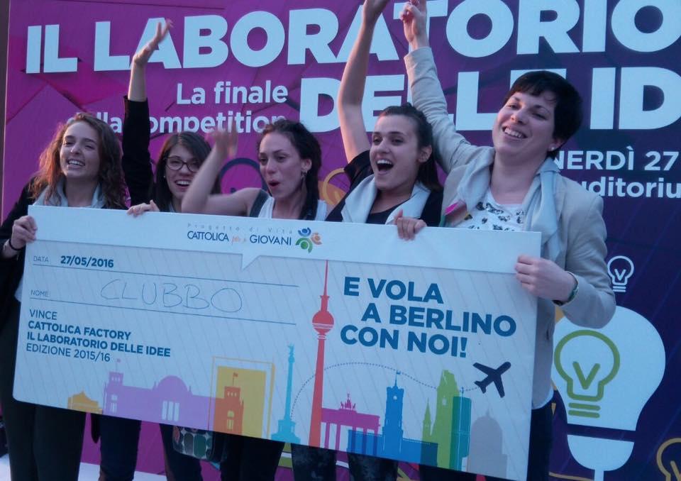 Cattolica Factory 2016 - Premiazione Clubbo (Foto Progetto di Vita - Cattolica per i Giovani - profilo Facebook) Imc