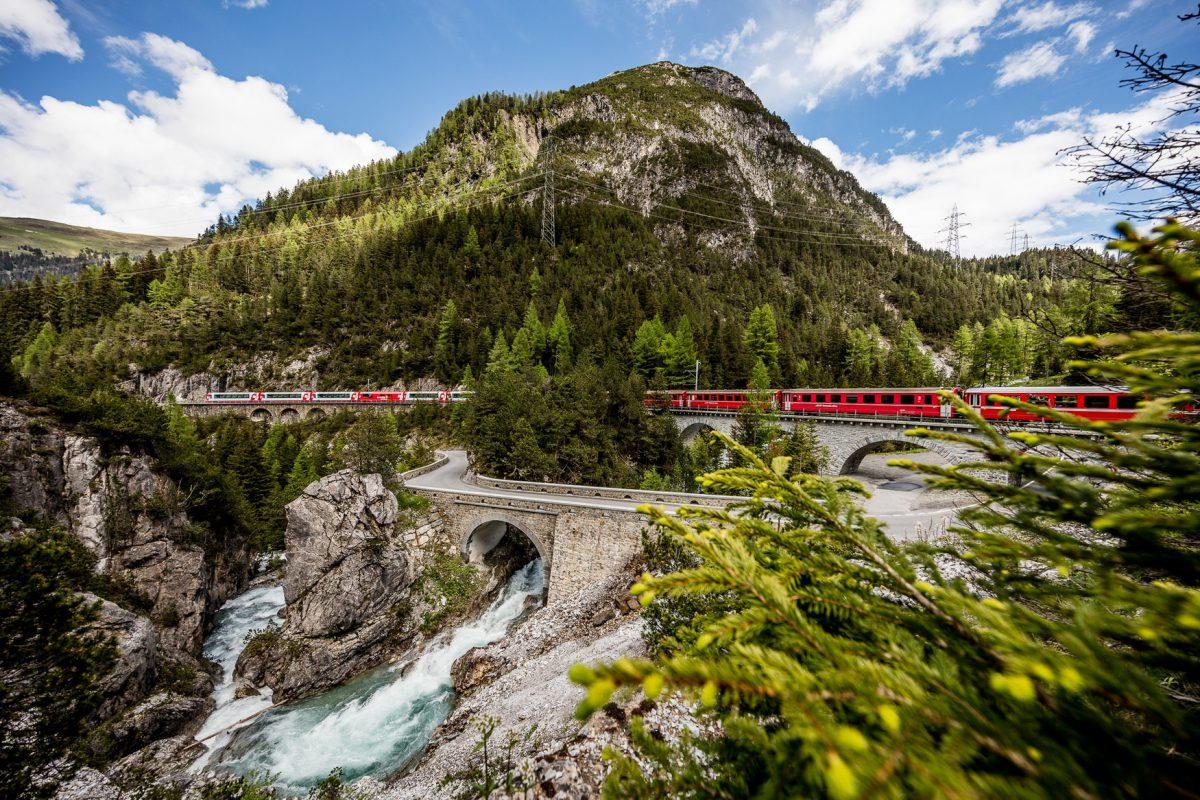 Helvetia - Ferrovia Retica - Valle dell'Albula Imc