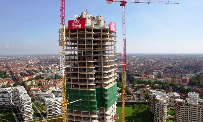 Citylife prende forma, la Generali Tower sarà pronta nel 2018 ...