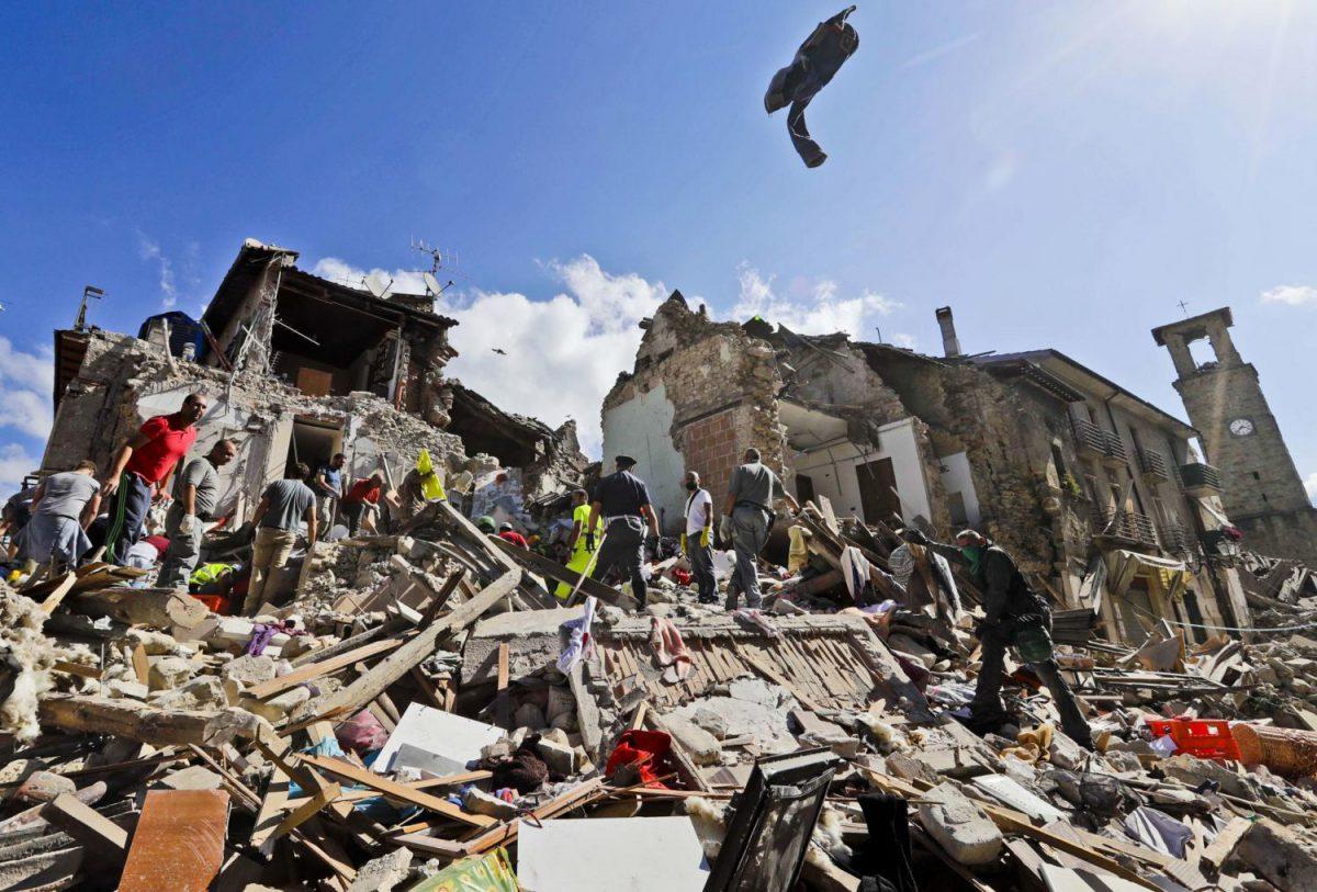 Terremoto Lazio-Marche 2016 Imc