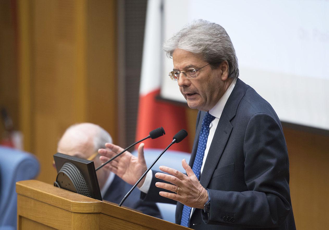 Paolo Gentiloni (Foto Governo Italiano - Presidenza del Consiglio dei Ministri) Imc
