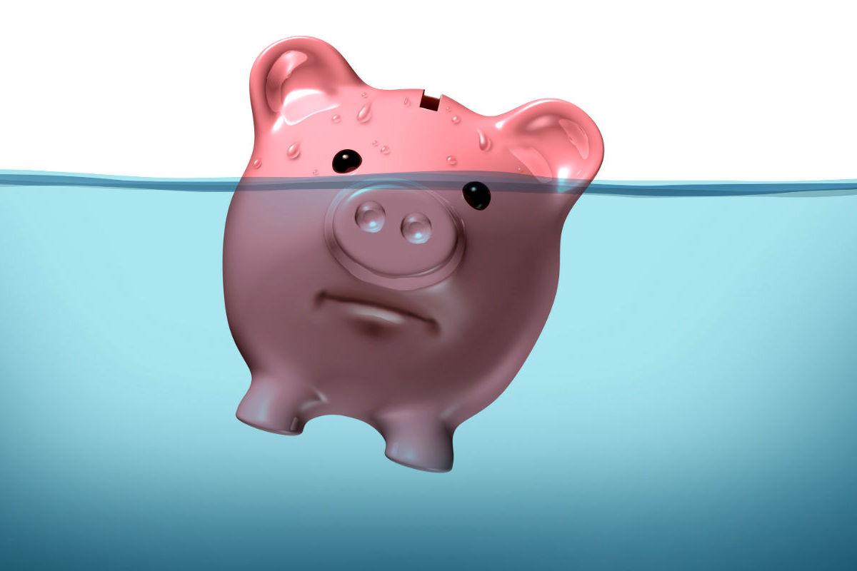 Salvadanaio - Insolvenze - Difficoltà finanziarie Imc