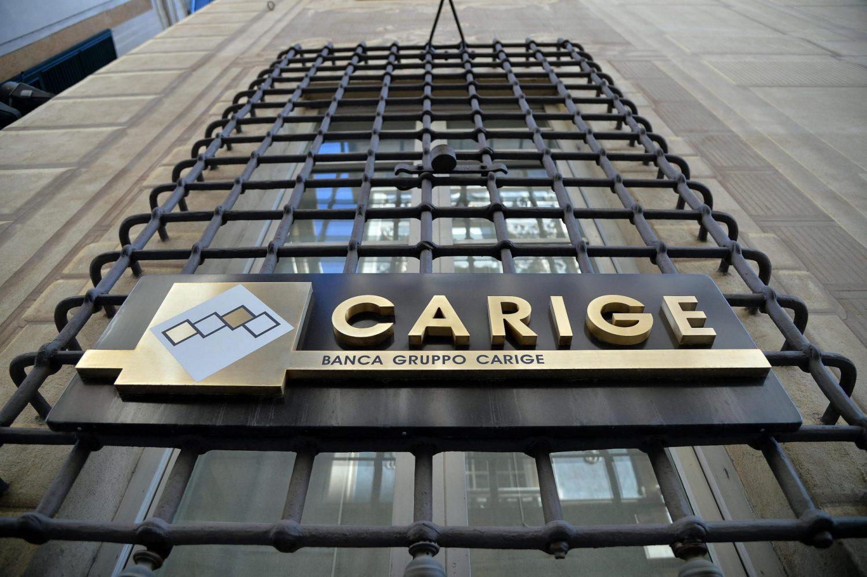 Banca Carige (Foto ANSA / Luca Zennaro) Imc