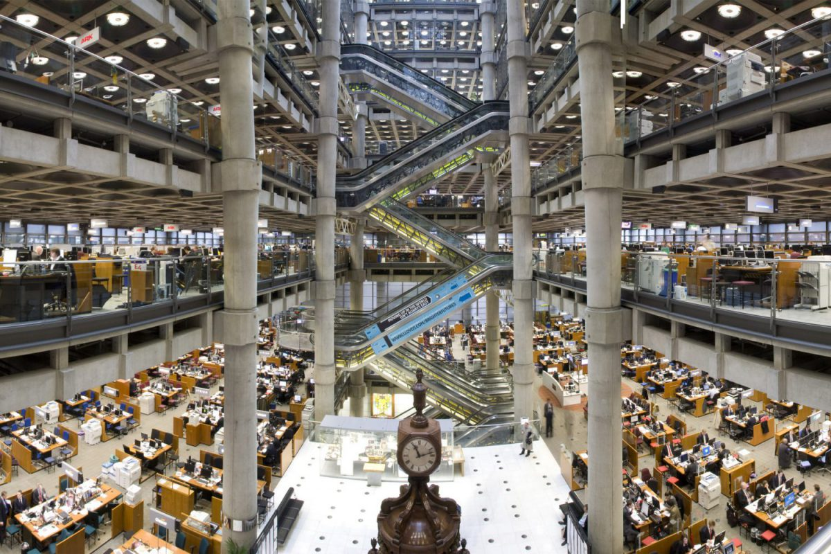 Lloyd's of London - Interno edificio Imc