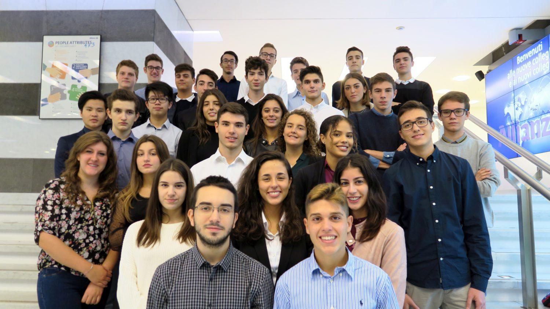 Allianz Italia - Progetto Dualità Scuola Lavoro 2017 - I ragazzi della seconda edizione Imc