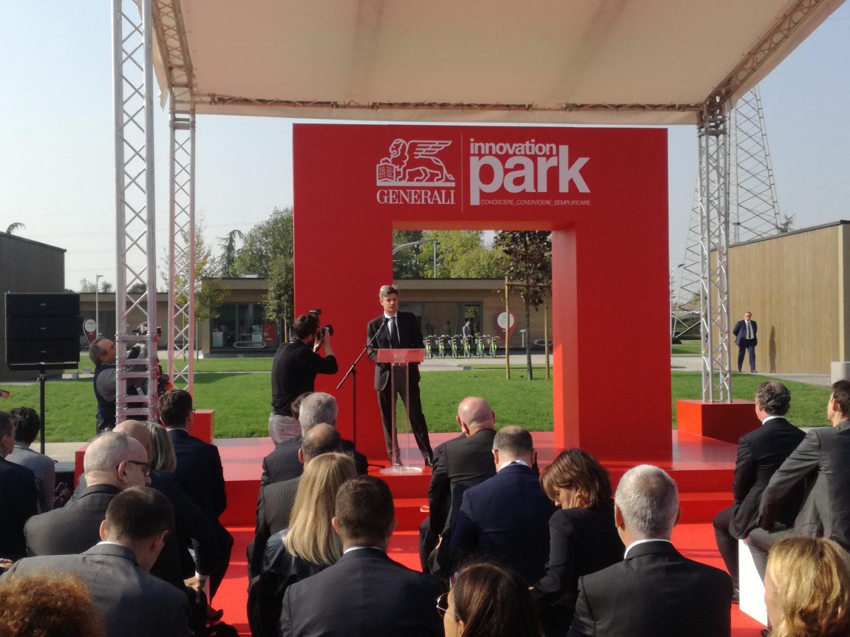 Generali Italia - Marco Sesana - Inaugurazione Innovation Park Imc