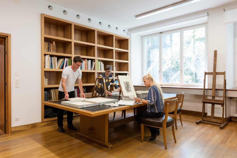Kunstmuseum Basel - Predigitalizzazione opere Kupferstichkabinett (Foto Julian Salinas) Imc
