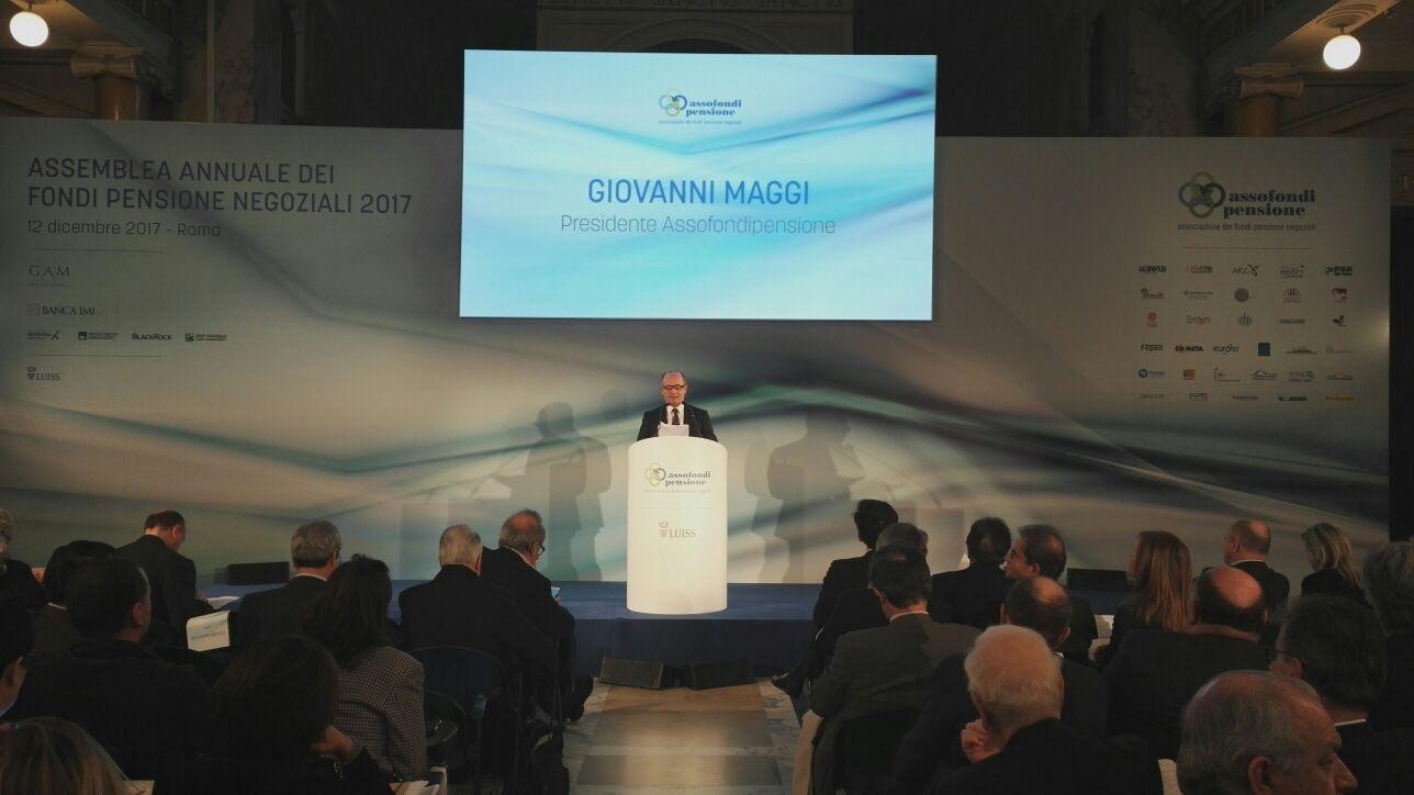 Assofondipensione - Asssemblea Annuale 2017 - Giovanni Maggi Imc
