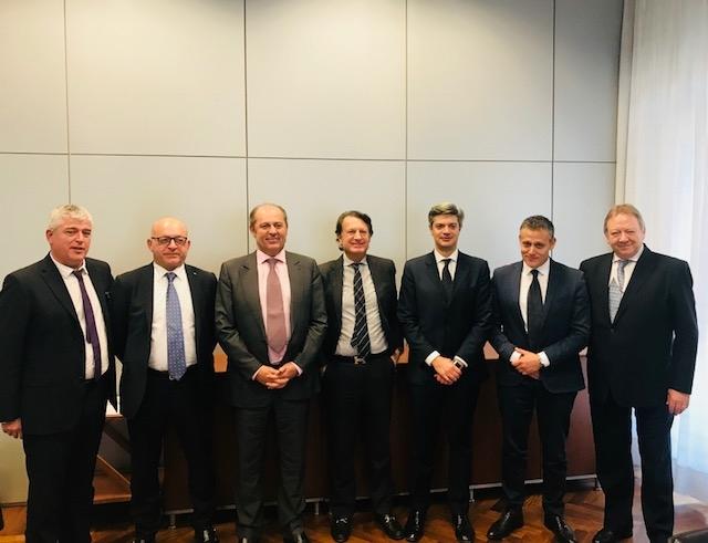 Milano - Riunione coordinamento europeo Agenti Generali Imc