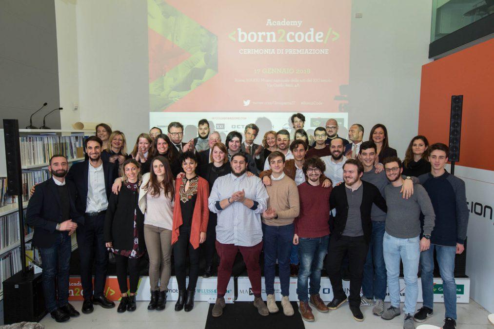 Groupama Assicurazioni - Born2Code - Premiazione Imc