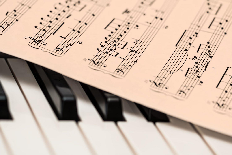 Musica classica - Pentagramma - Pianoforte Imc