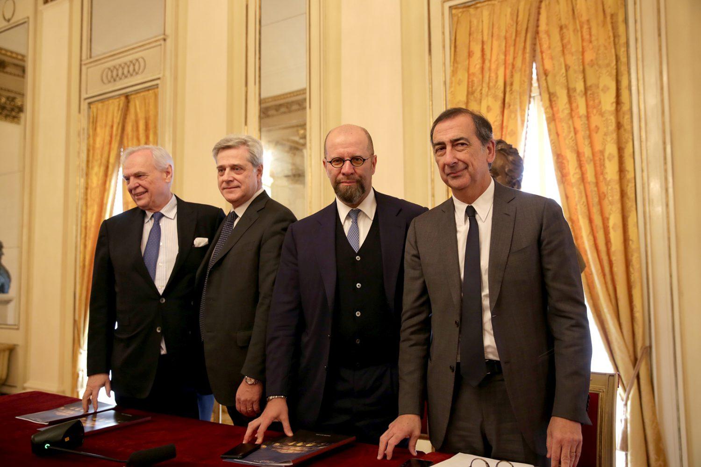 Allianz Italia - Incontro stampa Teatro alla Scala di Milano Imc