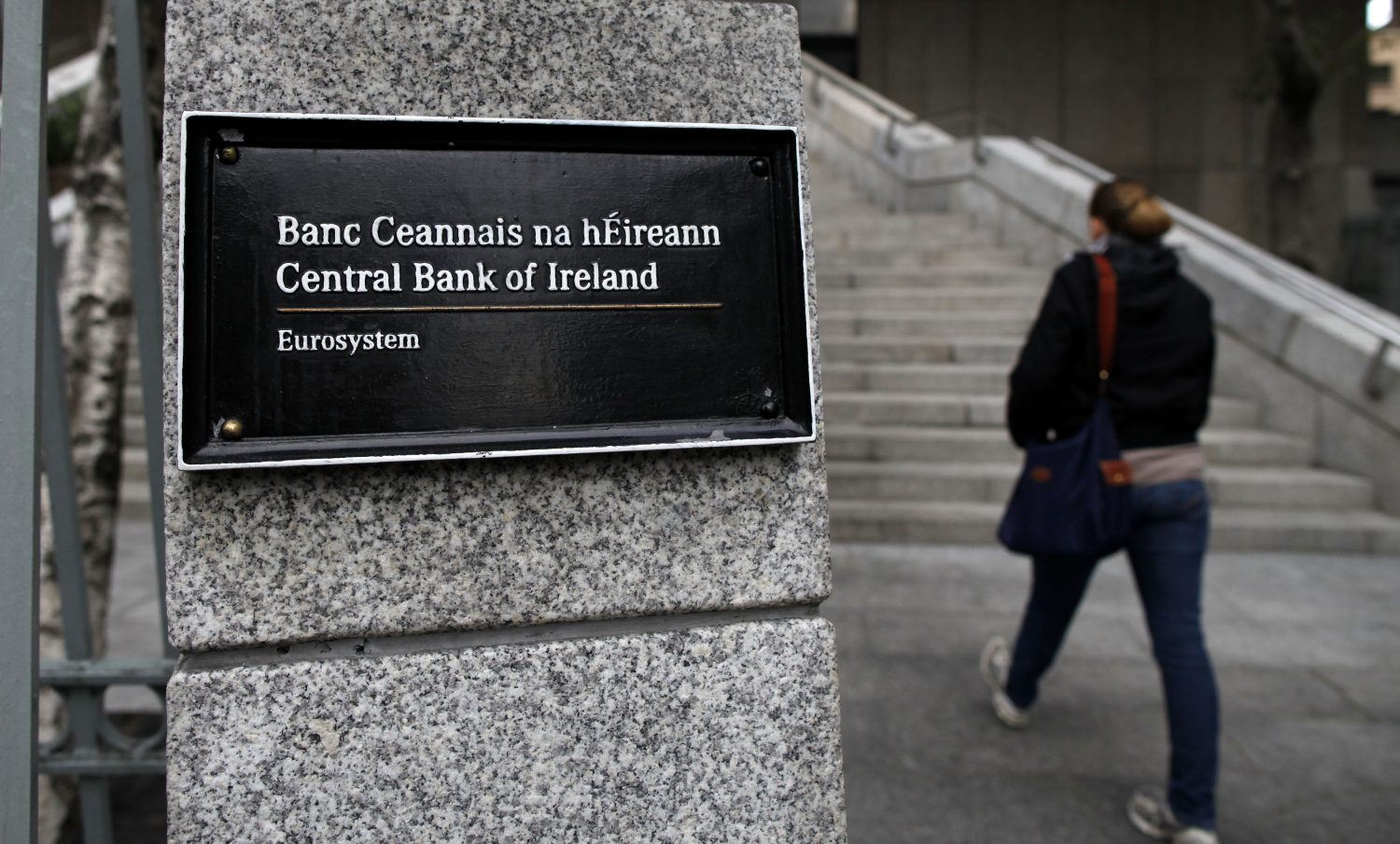 Central Bank of Ireland - Insegna (Foto Peter Muhly / AFP / Getty Images) Imc