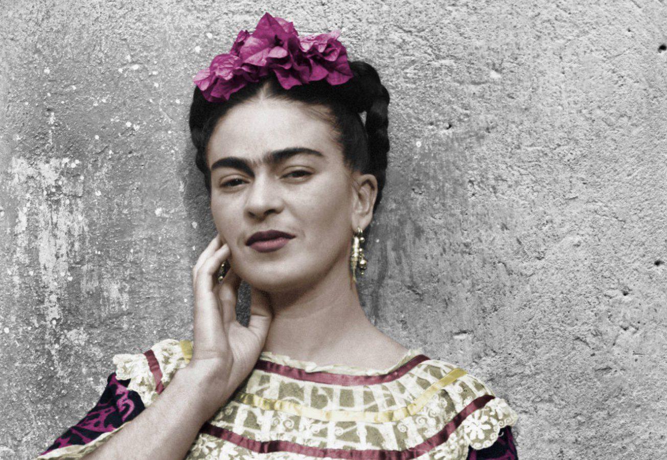 Leo Matiz - Frida Kahlo nella Casa Azul (1943) Imc