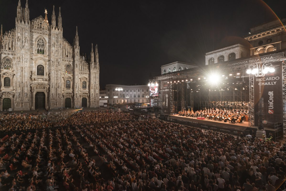 Concerto per Milano - Piazza Duomo Imc