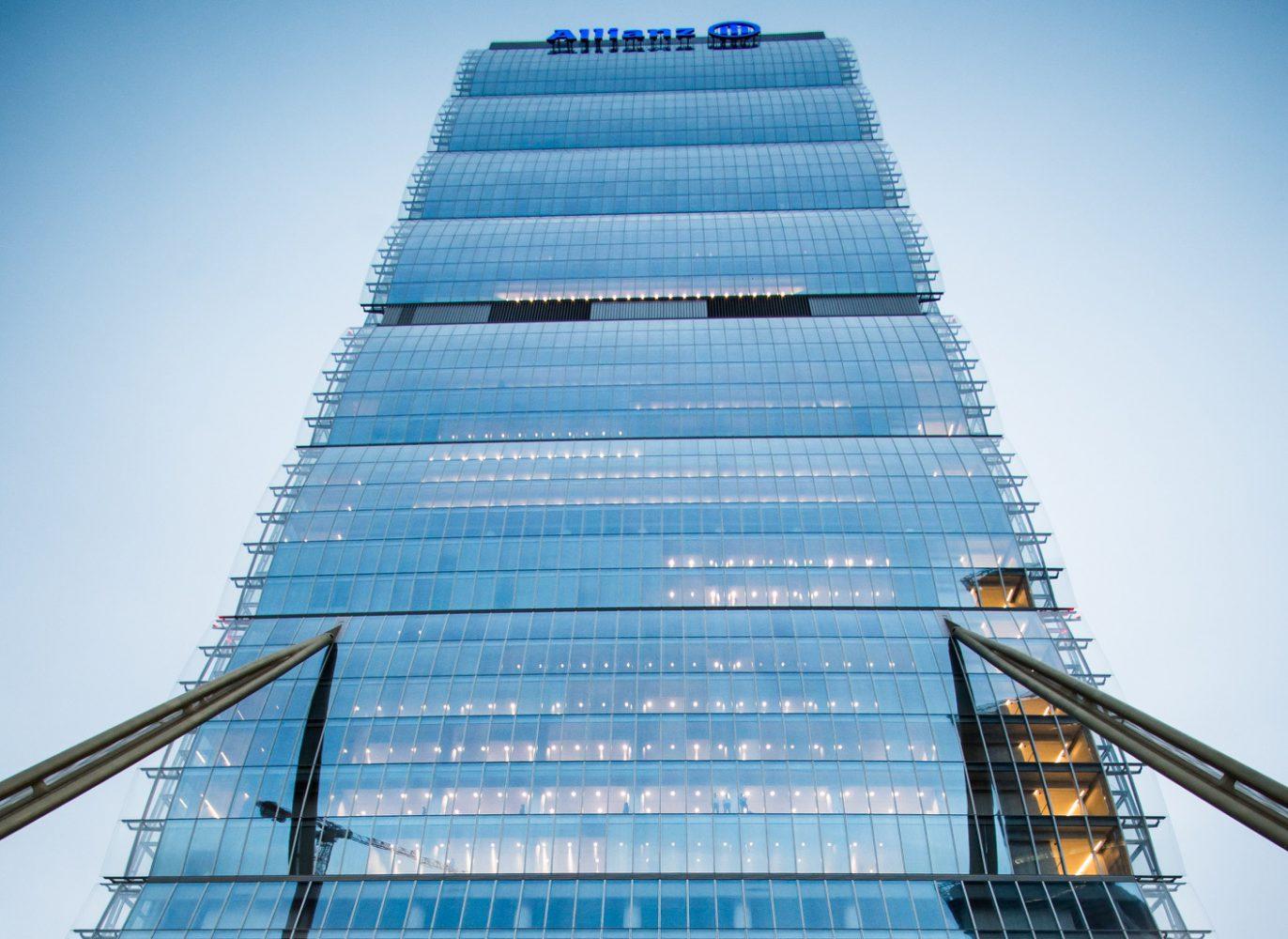 Milano - Torre Allianz (Torre Isozaki) (2) Imc