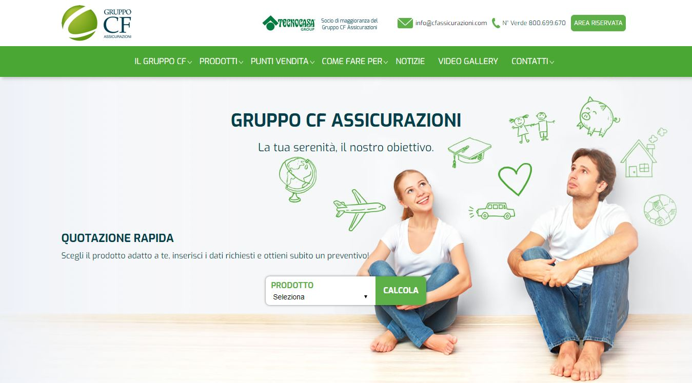 CF Assicurazioni - Homepage sito web (2) Imc