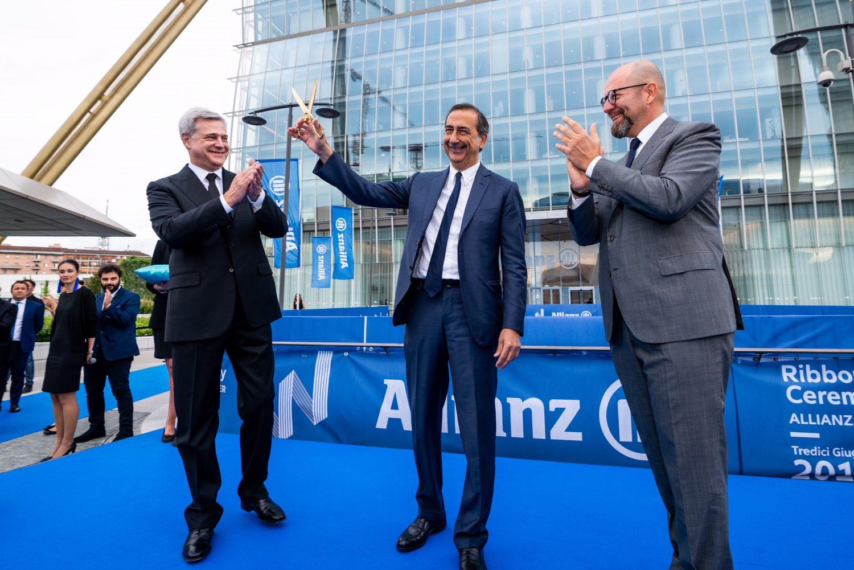Milano - Inaugurazione Torre Allianz Imc
