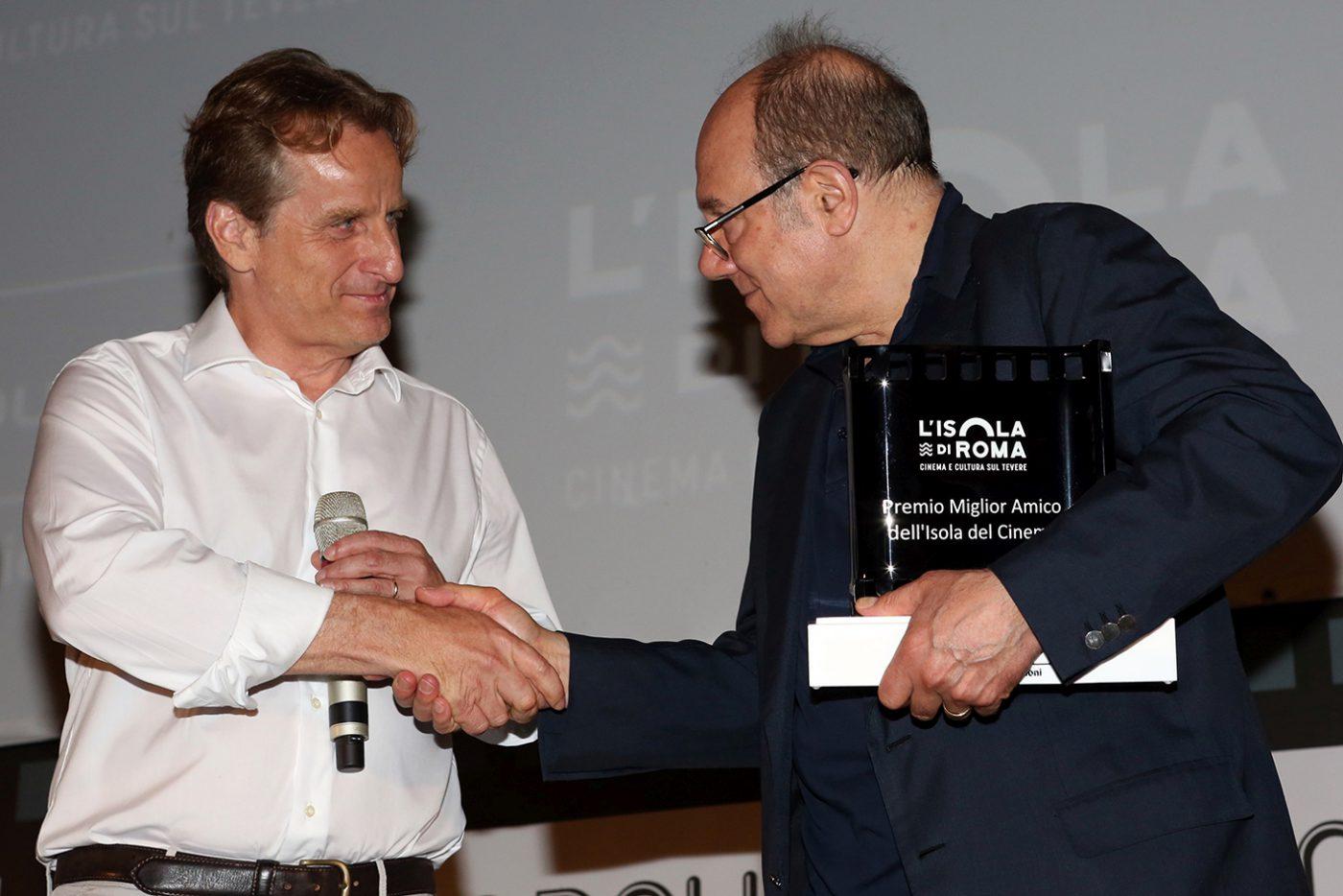 Dominique Uzel e Carlo Verdone Imc