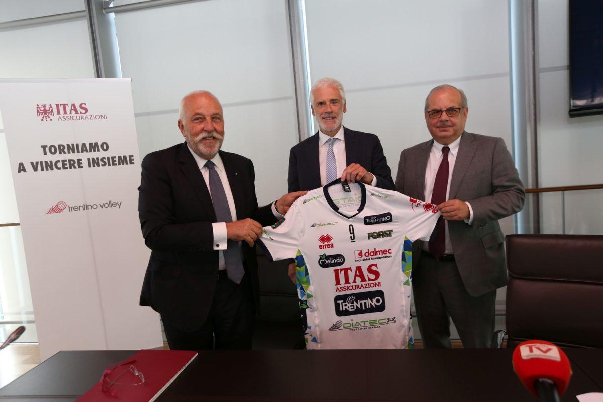 ITAS e Trentino Volley - Presentazione nuova maglia (Mosna - Lorenz - Agrusti) Imc