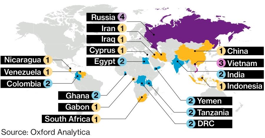 Political risk survey report - Mappa Imc