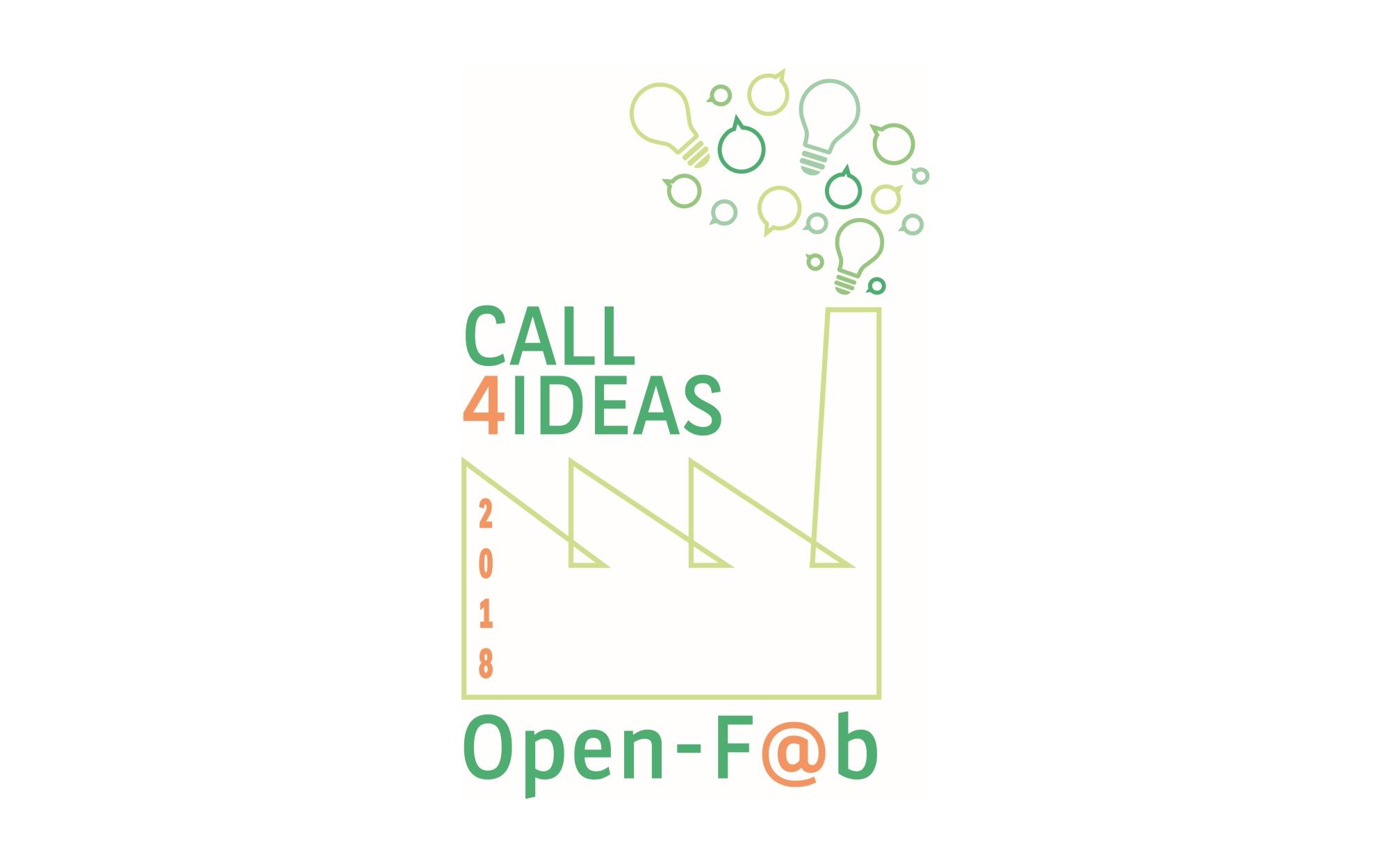 Open-F@b Call4Ideas 2018