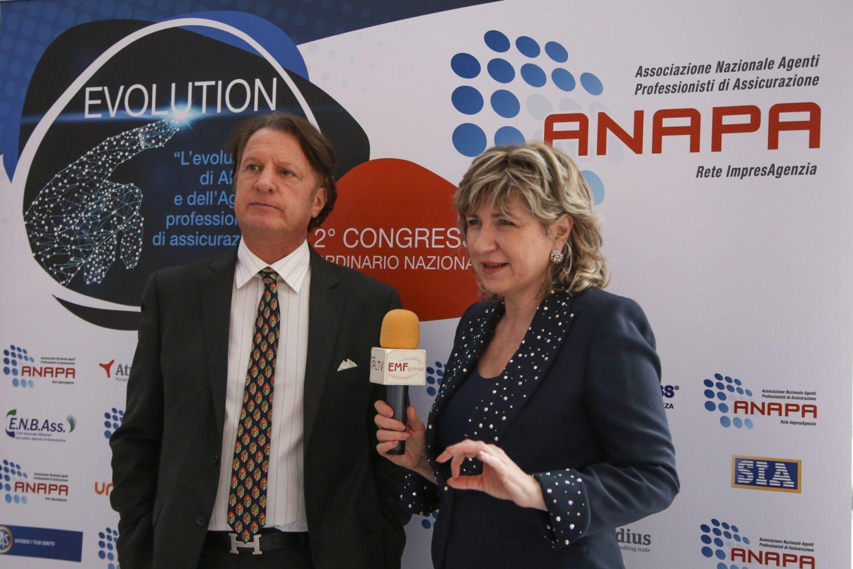 II Congresso ANAPA - Vincenzo Cirasola e Marcella Frati Imc