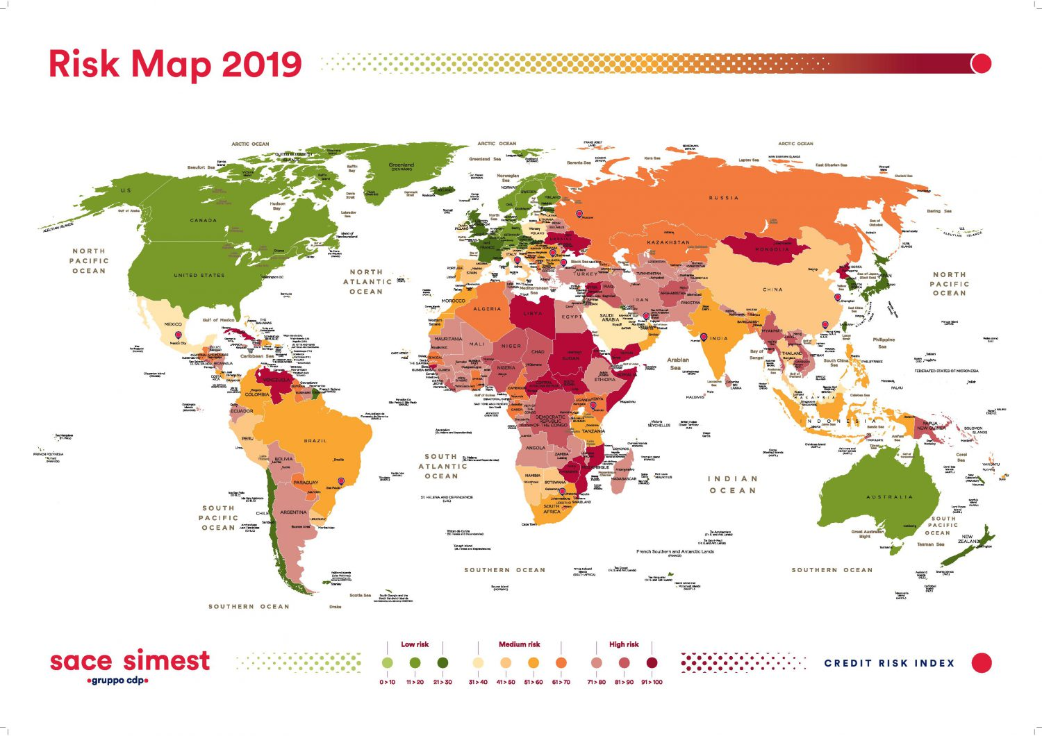 SACE SIMEST - Risk Map 2019 Imc