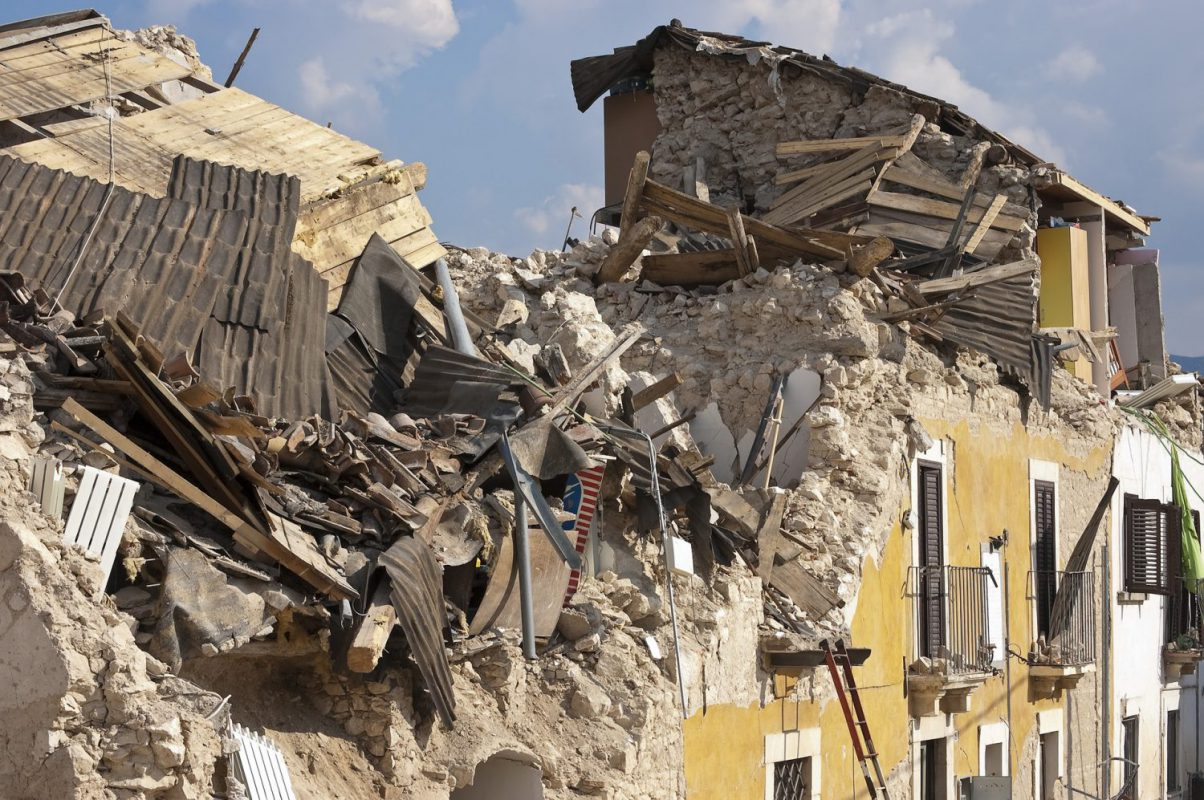 Terremoto (Foto Angelo Giordano - Pixabay) Imc