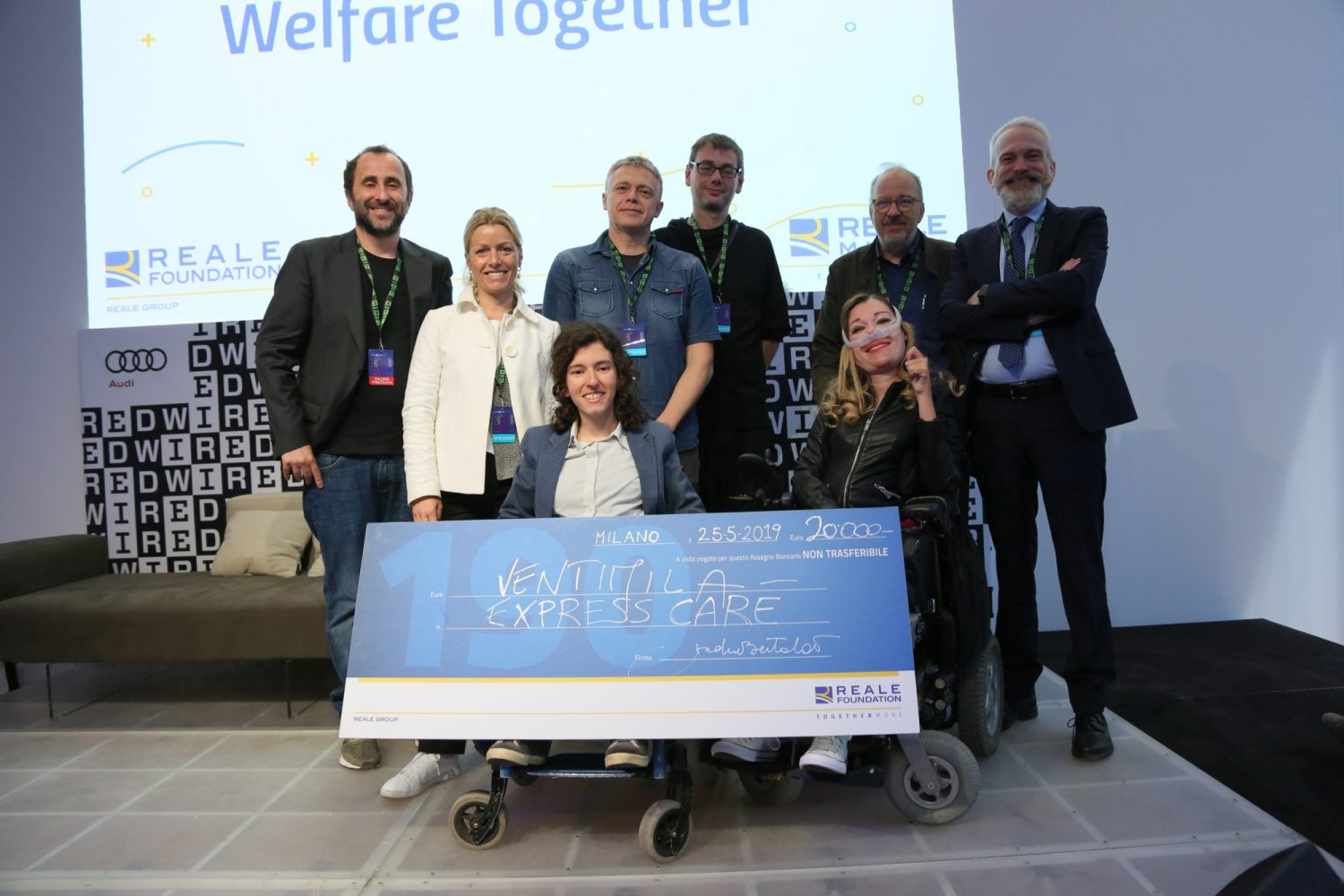 Welfare Together 2019 - Premiazione Express Care Imc