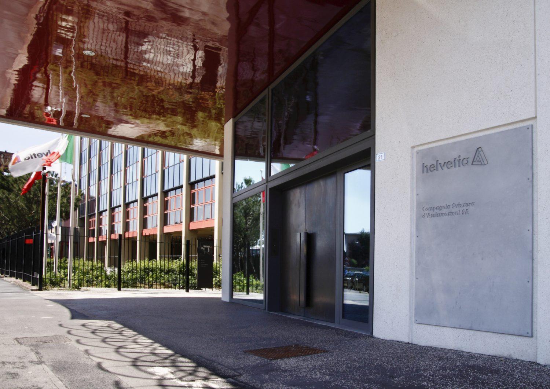 Helvetia Italia - Ingresso sede Milano Imc