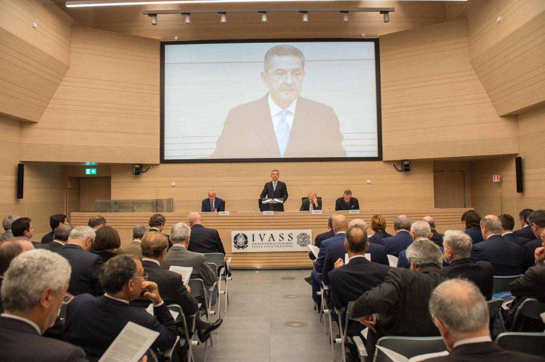 IVASS - Relazione annuale 2018 - Considerazioni Panetta (Foto Archivio Fotografico IVASS) Imc