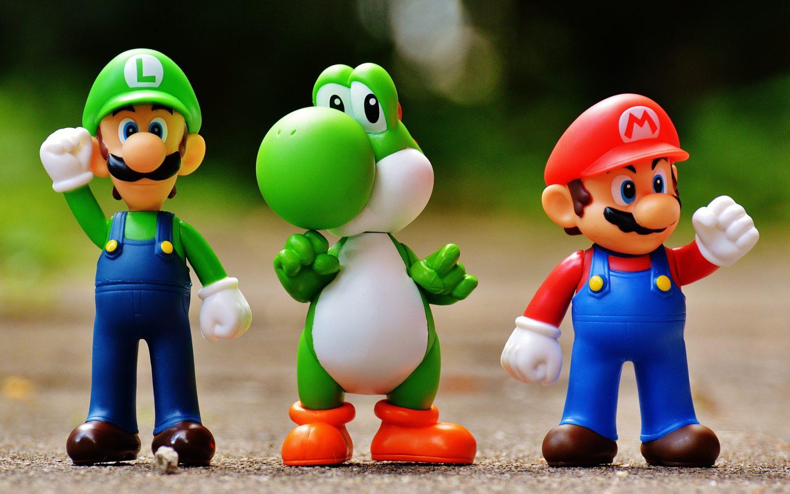 Super Mario - Luigi - Yoshi - Gaming - Videogiochi (Foto Pixabay) Imc