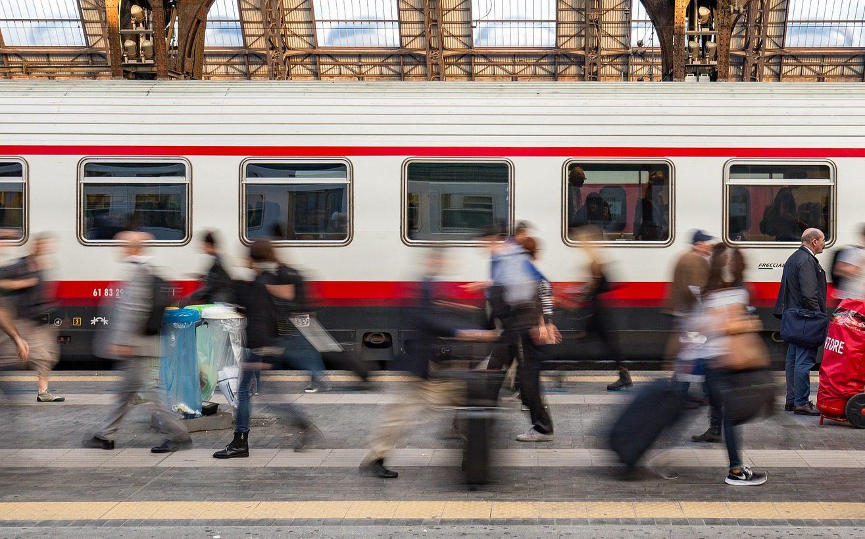 Treno (Foto Pixabay) Imc