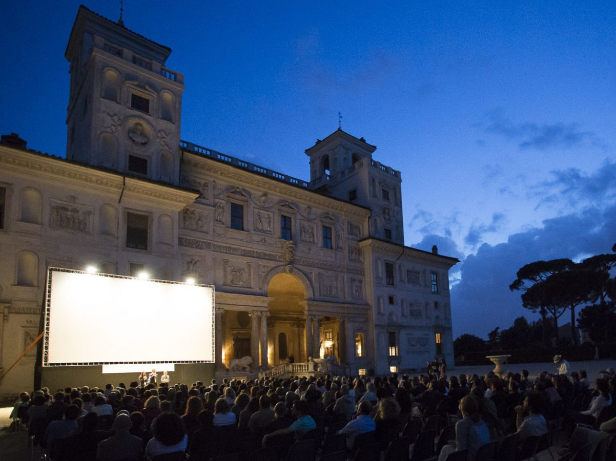Roma - Villa Medici - Cinema all'Aperto Imc
